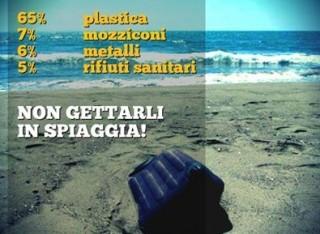 Ecco quali sono i rifiuti sulle nostre spiagge