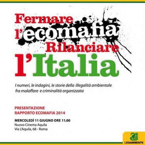 Reati ambientali e corruzione in Ecomafia 2014