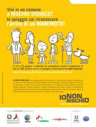 """La protezione civile nelle piazze di 230 comuni per la campagna """"io non rischio"""". 14 e 15 giugno"""