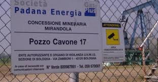 Nessuna correlazione tra le attività del campo Cavone e il terremoto dell'Emilia