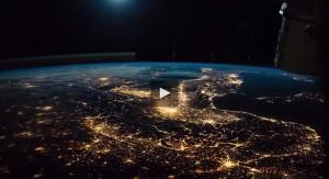 Ecco com'è l'Italia vista dallo spazio: il VIDEO mozzafiato dalla Stazione Spaziale