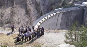 La Scuola italiana di geologia ai piedi della diga del Vajont
