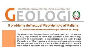 Bollettino Geologi  settembre/dicembre 2014