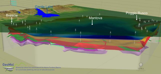 ISPRA: presentata la più moderna mappa geologica in 3D del sottosuolo della Pianura Padana