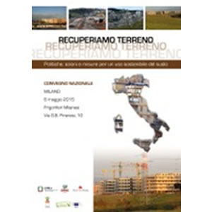 Consumo di suolo, online la prima mappa italiana