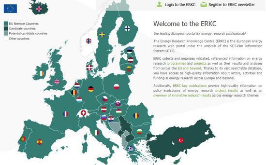 Innovazione energetica, online il portale europeo