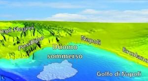 """Al centro del Golfo in fondo al mare c'è un """"duomo"""" che emette gas"""