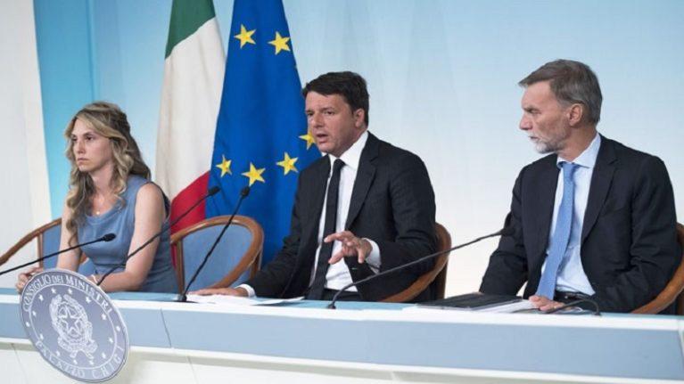 «Casa Italia», piano per il rilancio in cinque mosse
