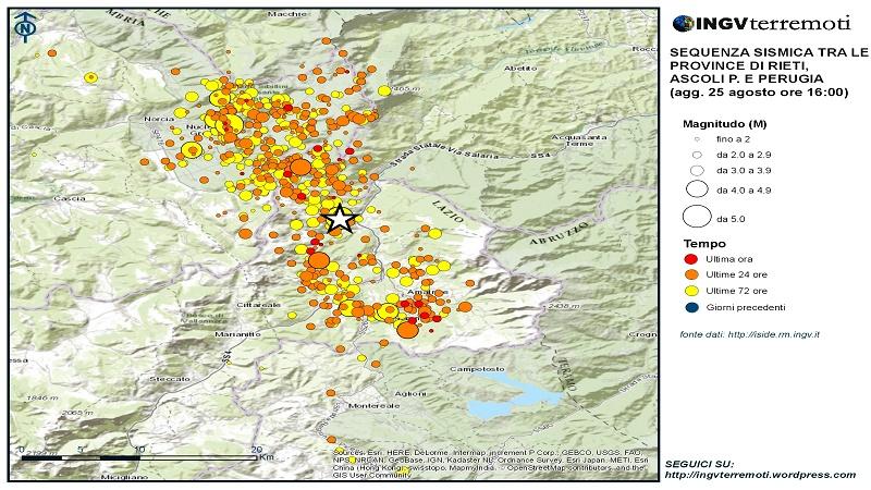 """L'Appennino frontiera geologica """"Prepariamoci ad altri terremoti"""""""