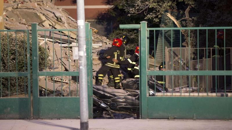 Tutti i palazzi e i quartieri a rischio crollo