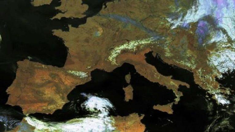 I terremoti visti dallo spazio