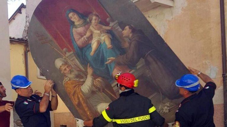 """I Monuments Men di Amatrice """"Così salviamo le opere d'arte"""""""