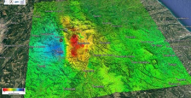 Dal giapponese ALOS 2 nuovi dettagli sugli effetti del terremoto
