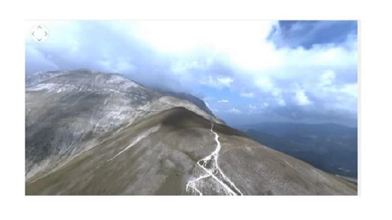 La faglia del sisma di Amatrice a 360 gradi