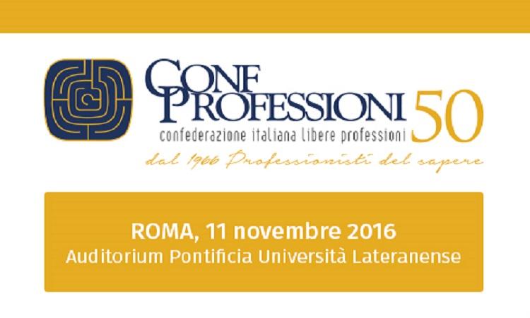 Si apre a Roma il Congresso Nazionale di Confprofessioni
