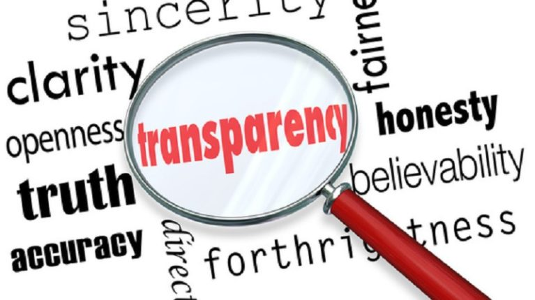 Trasparenza, strada a ostacoli