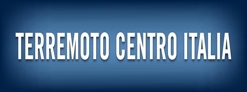 Terremoto Centro Italia 2016-2017:  la normativa