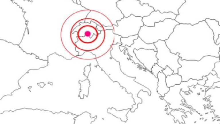 Sisma in Svizzera, trema l'Italia del Nord