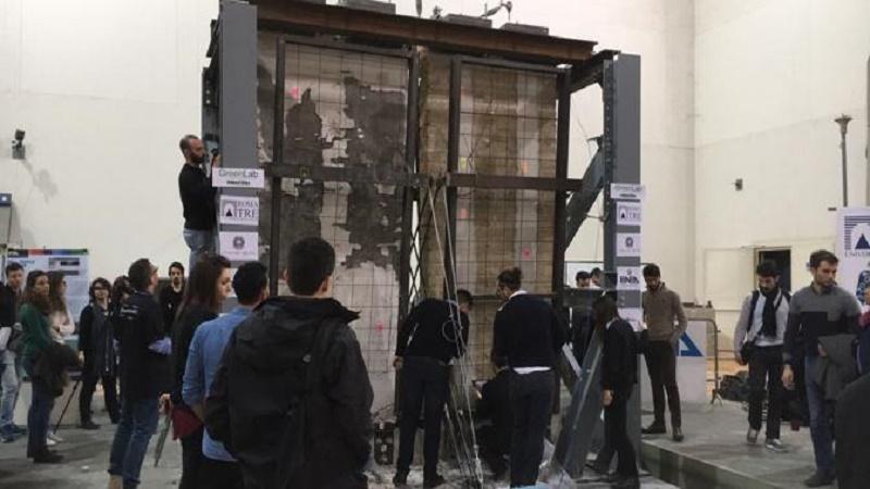 La terra trema come nel 2009 all'Aquila…ma è solo un test di resistenza per le murature