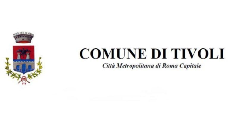 Comune di Tivoli – Avviso pubblico – Formazione elenco di professionisti
