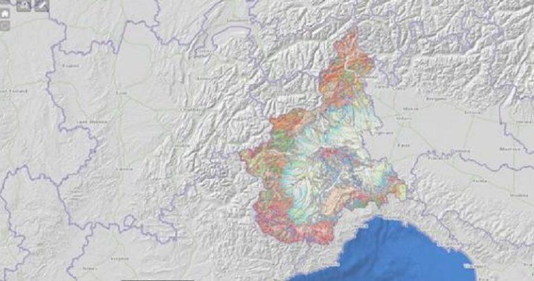 Online la Carta Geologica del Piemonte