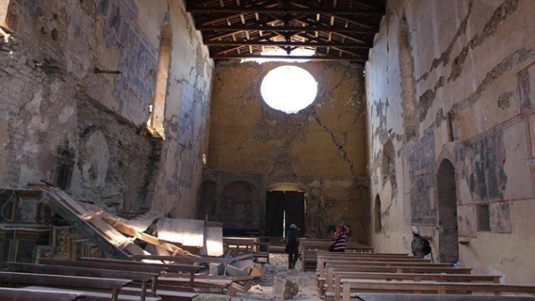 Terremoto centro Italia e ricostruzione: al via lavori in 69 chiese per un investimento da 14,3 miliardi