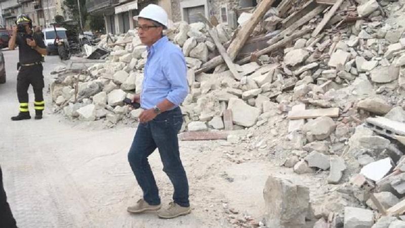 Arrivano i soldi per il terremoto. Ma sparisce il commissario Errani