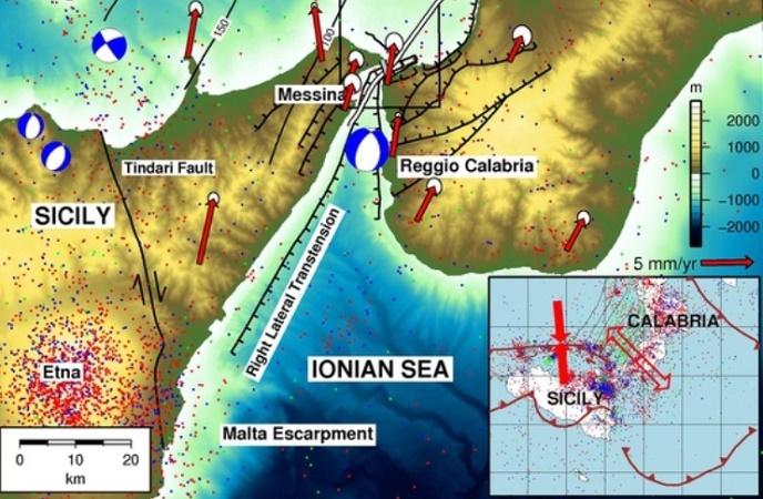 Rischio tsunami, Sicilia sotto osservazione