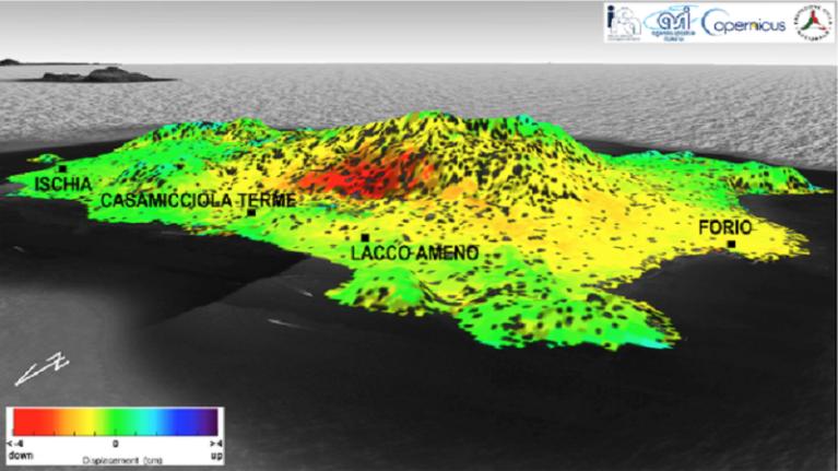 Terremoto Ischia, CNR-IREA conferma abbassamento del suolo di 4 cm a Casamicciola