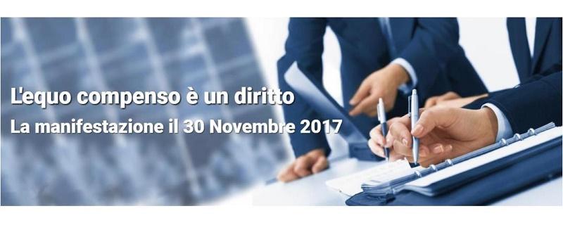 Informativa sulla Manifestazione RPT-CUP del 30 novembre a Roma relativa all'equo compenso
