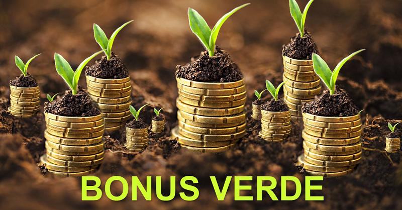 Bonus verde, pagamenti elastici