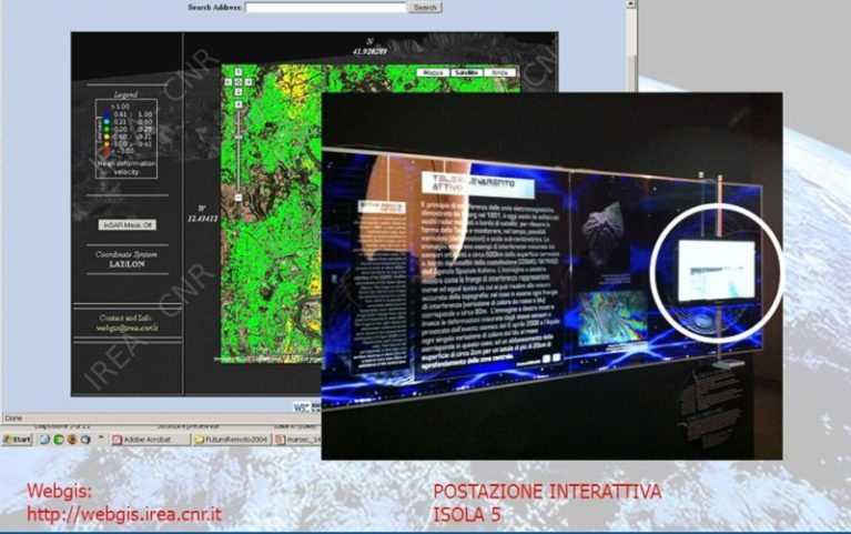 Ecco il sistema radar che dà l'allarme su terremoti, frane e attività vulcaniche