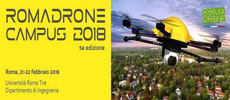 Roma Drone Campus 2018