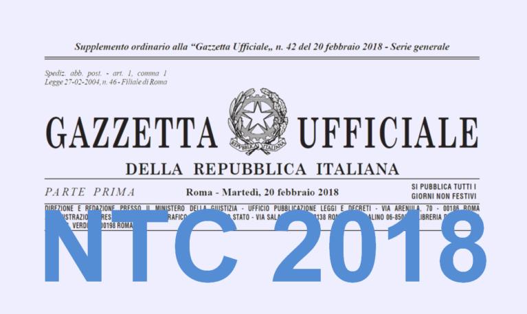Norme Tecniche Costruzioni (NTC) 2018 applicabili senza circolare esplicativa