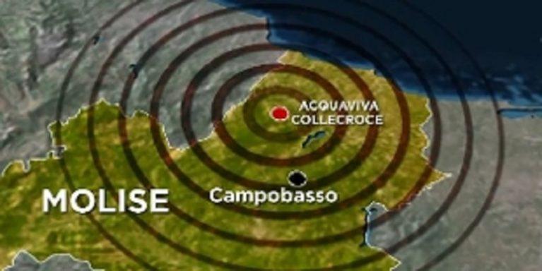 Terremoto in Molise tanta paura nessun ferito