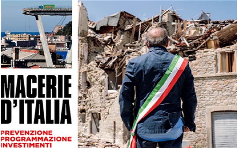 Macerie d'Italia – Prevenzione – Programmazione – Investimenti