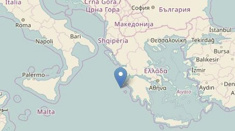 Scossa di terremoto 6.8 in Grecia. Paura anche nel Sud dell'Italia