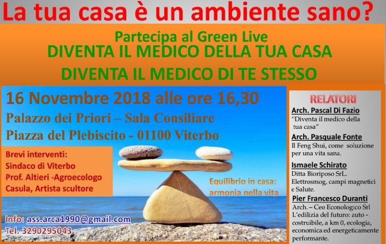 Conferenza sulla casa sana – Prevenire le malattie nei luoghi confinati