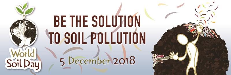 World Soil Day: «Senza suolo non si vive. E non è rinnovabile!»