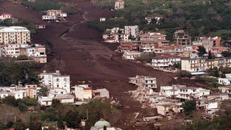22° anniversario delle frane di Sarno, i geologi: dopo il Covid-19 il Paese riparta anche dagli investimenti per la messa in sicurezza dei territori