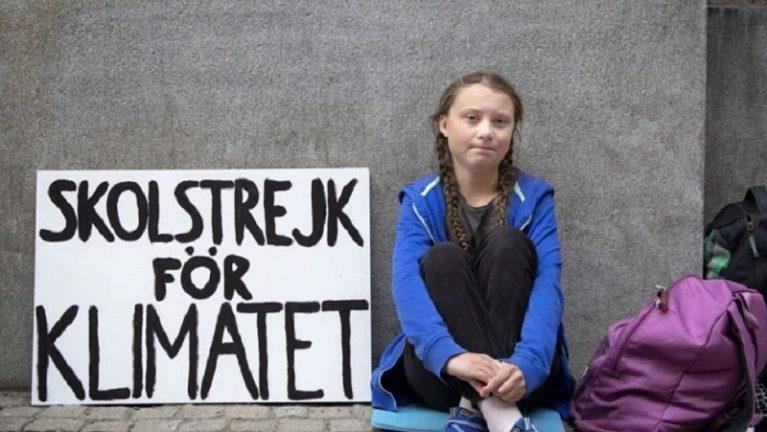 I giovani italiani tornano in piazza contro i cambiamenti climatici, insieme a Greta Thunberg