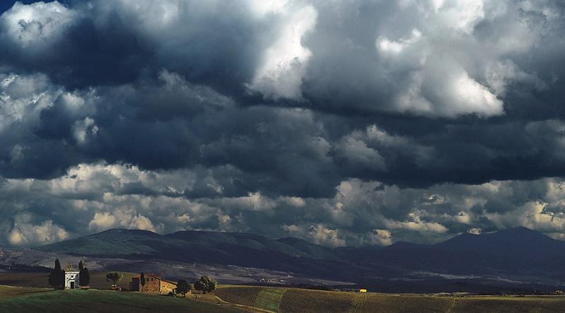 Se sparissero le nuvole catastrofi a catena