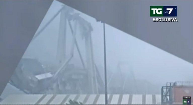 Ecco il video del crollo del ponte Morandi secretato dalla Guardia di Finanza. I primi commenti