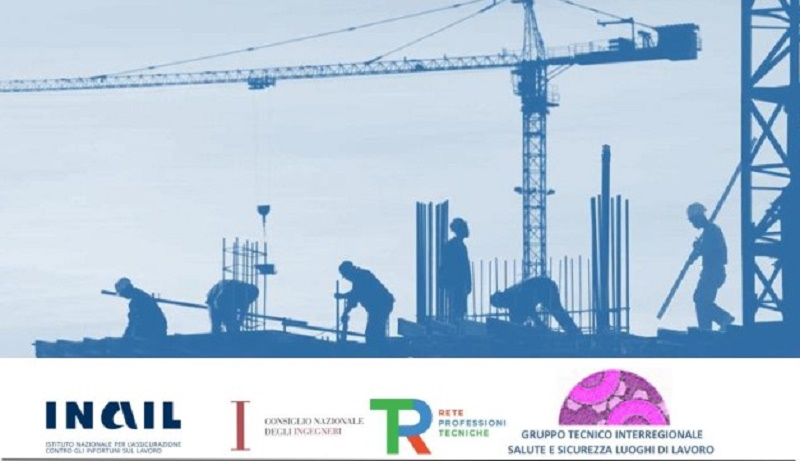"""Concorso Nazionale """"Archivio delle buone pratiche per la salute e sicurezza sul lavoro nei cantieri temporanei o mobili"""""""