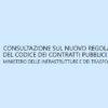 Codice dei contratti e Regolamento unico: il dettaglio della consultazione del MIT