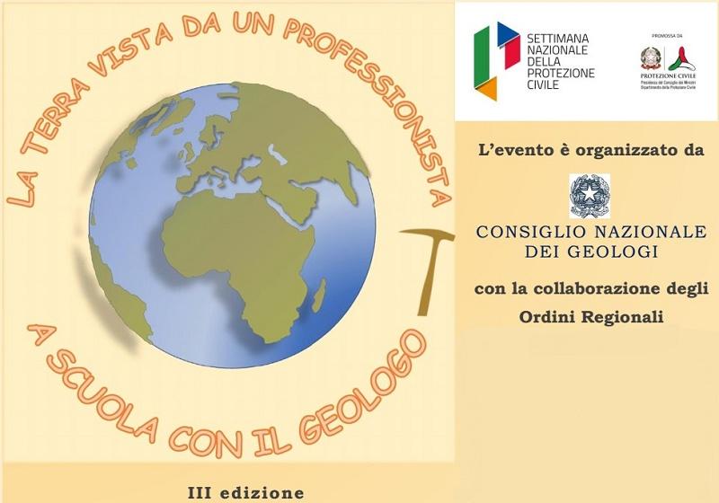 """Oltre 750 scuole italiane e più di 120 mila studenti partecipano a """"La Terra vista da un professionista: A scuola con il Geologo"""""""
