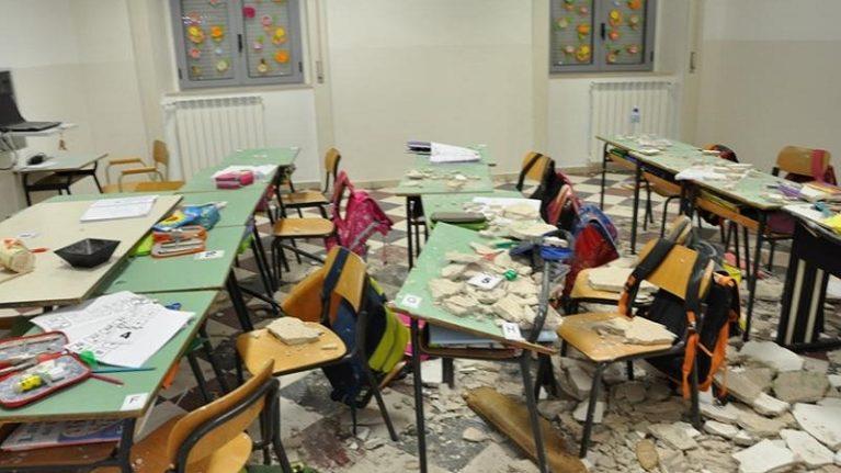Edilizia scolastica, contributo di 69,5 milioni del Miur per prevenire i crolli di solai