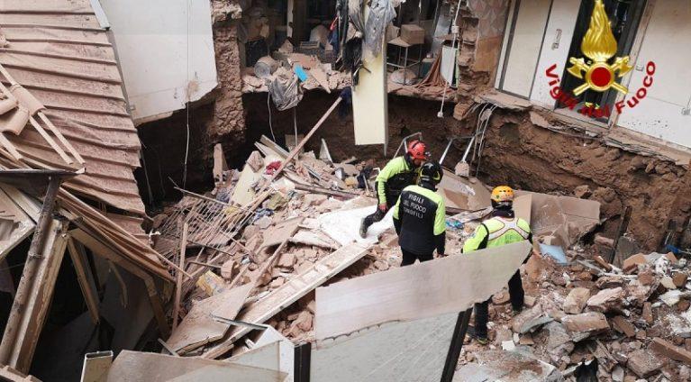 Crollo palazzina Catania, Tortorici: È fondamentale il ruolo del geologo tra i vigili del fuoco
