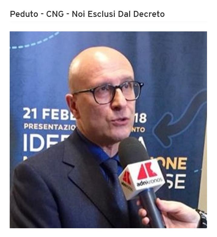 Intervista radiofonica al Presidente Peduto