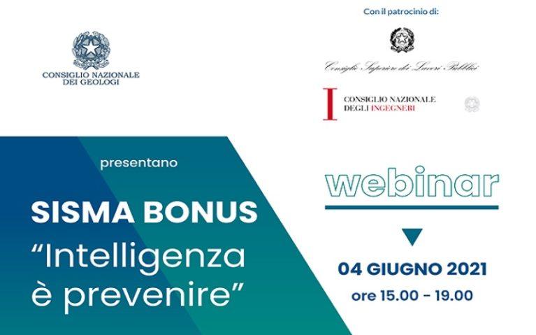 """On-line la registrazione del Webinar: Sisma Bonus """"Intelligenza è Prevenire"""""""